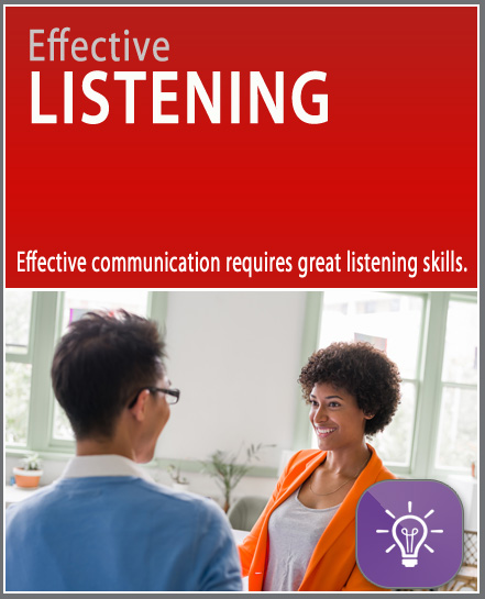 Effective listening micro learning online training. Quick, affordable, free, 10 minutes, mobile, short training.