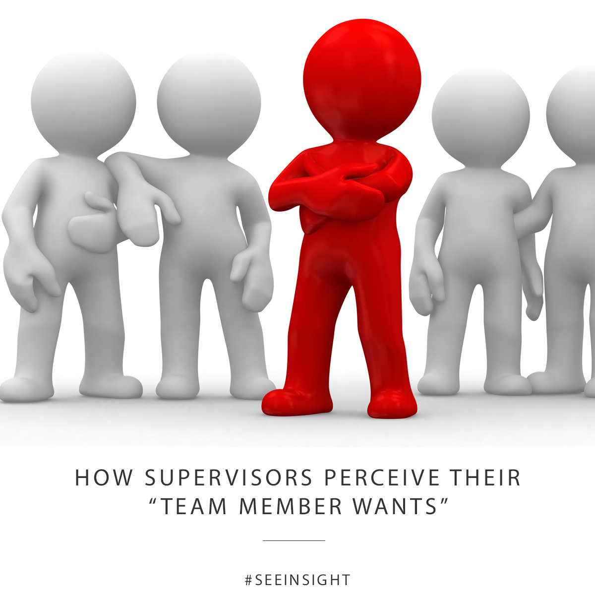 "How supervisors perceive their ""team member wants"""