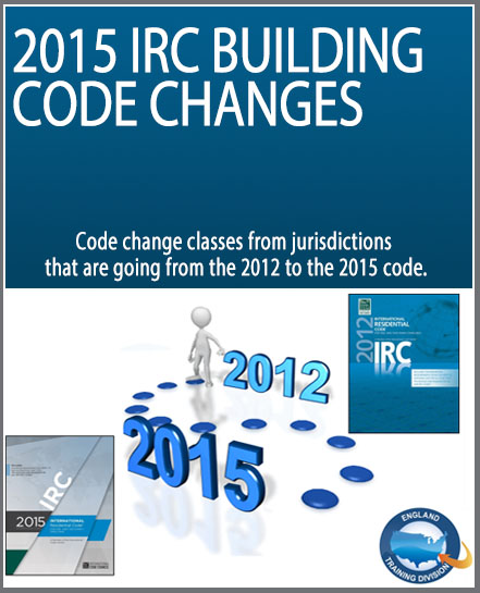 2015 IRC Building Code Change