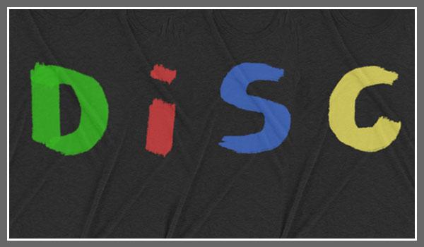 DiSC-Tshirts