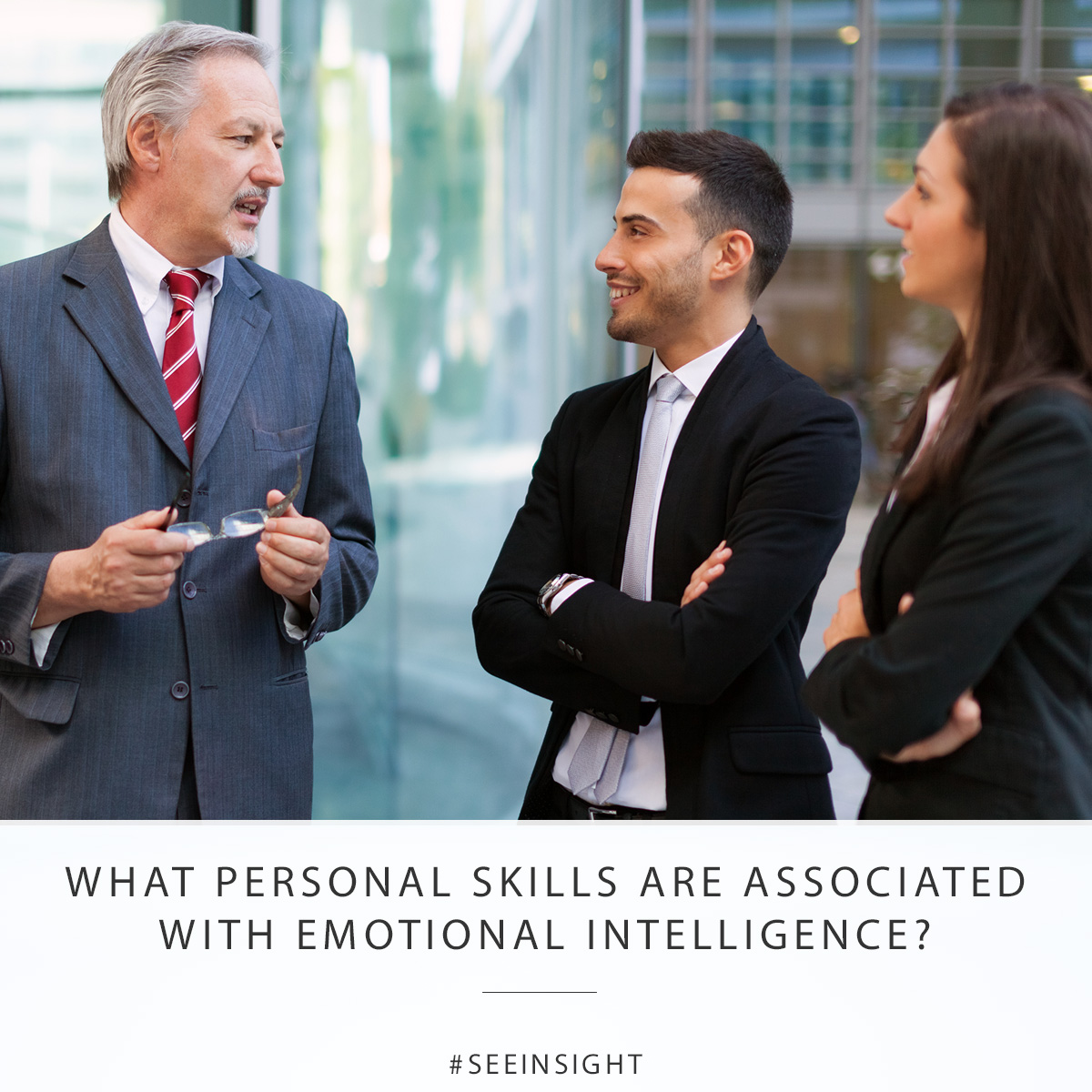 What personal skills are associated with emotional intelligence?