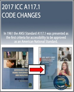 2017 ICC A117.1 Code Changes