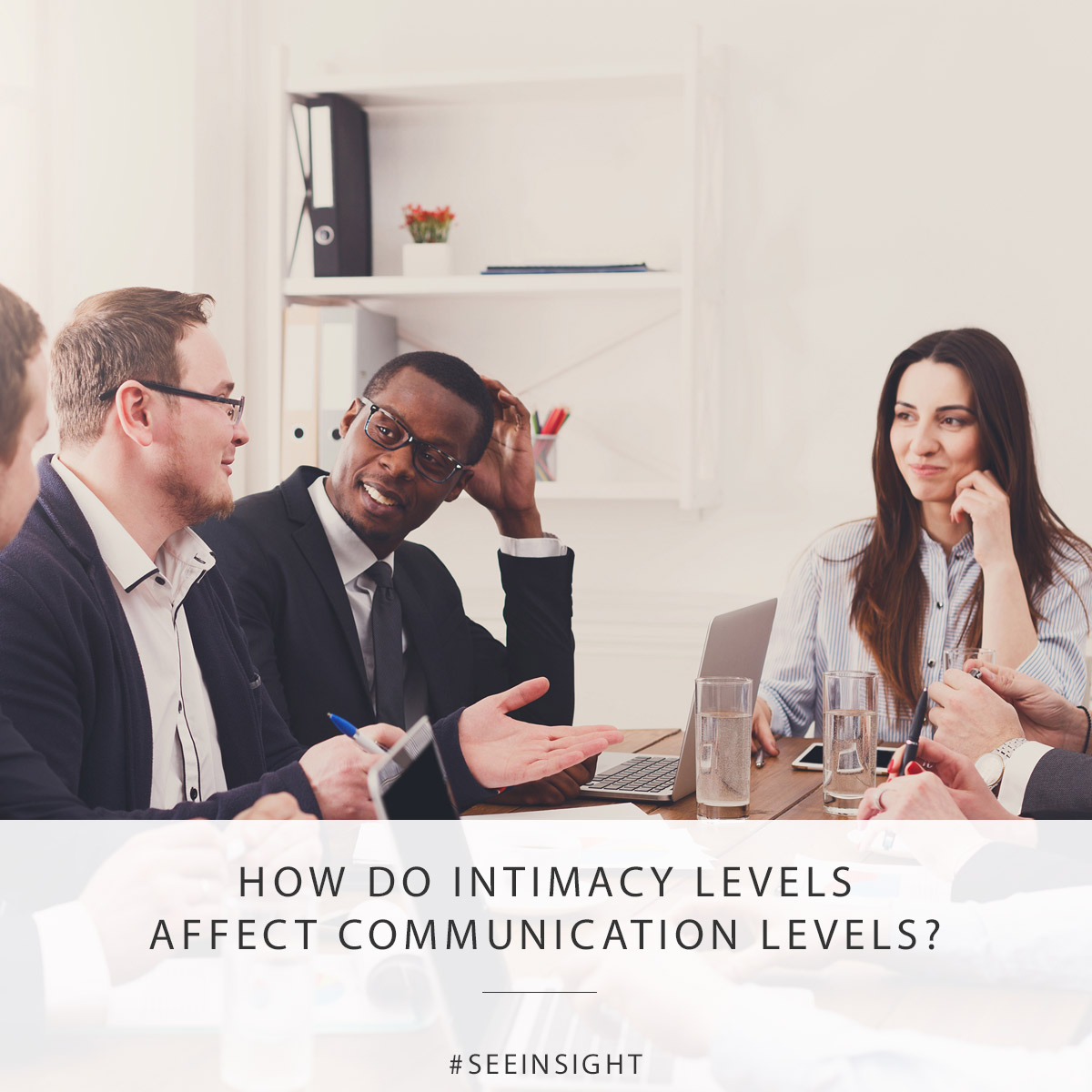 How do intimacy levels affect communication levels?