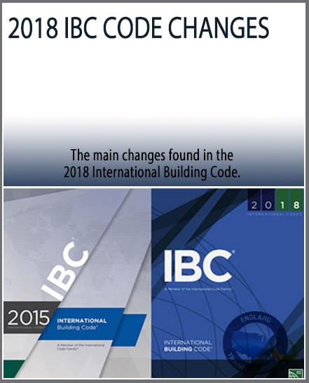 2018 IBC Code Changes