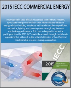 2015 IECC Commercial Energy